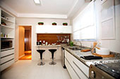 Marble benchtop kitchen